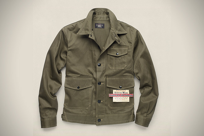 Ralph Lauren Cobbs Cotton Mechanic Jacket