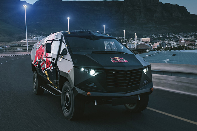 Red Bull Armored Event Vehicle | HiConsumption