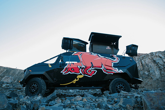 Red Bull Armored Event Vehicle 4