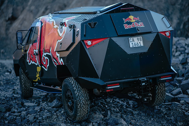 Red Bull Armored Event Vehicle 5