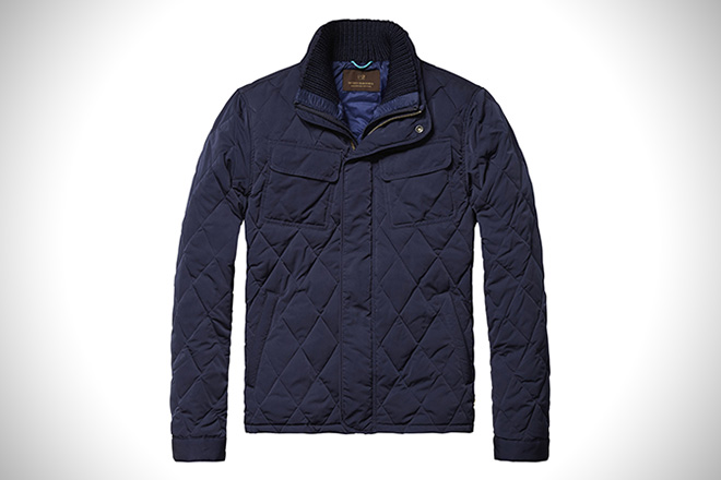 Scotch & Soda Padded Field Jacket