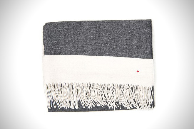 Apolis Striped Alpaca Blanket