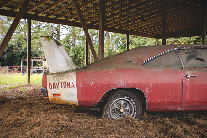 Barn Find 1969 Dodge Daytona Charger Hiconsumption