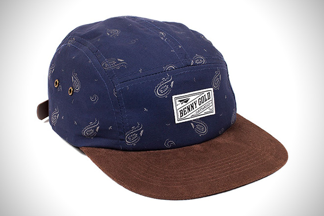 Benny Gold Cloud Paisley 5-Panel Hat