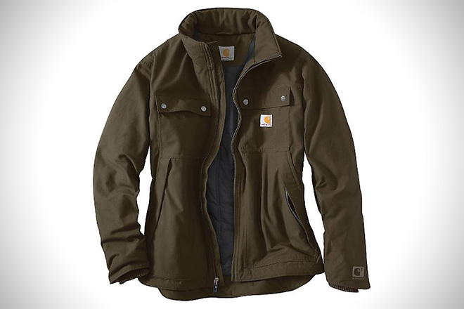 Carhartt Quick Duck Jefferson Traditional Jacket