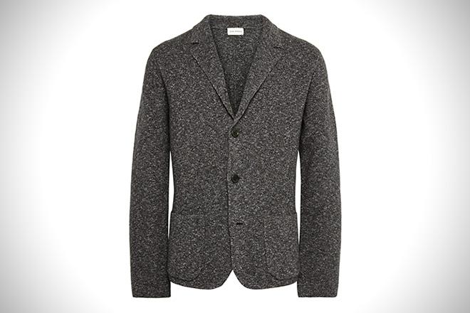 Club Monaco Marled Wool Blazer