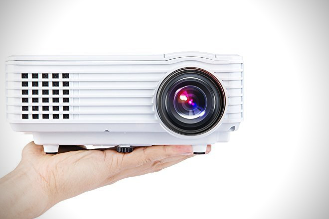DBPOWER Portable Multimedia Mini LED Projector