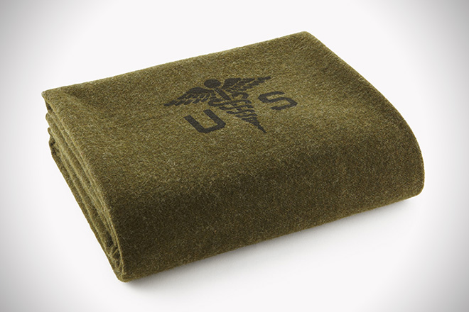 Faribault Woolen Mill Co. Foot Soldier Military Wool Blanket