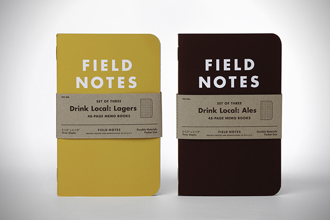 Field Notes Drink Local Notebooks