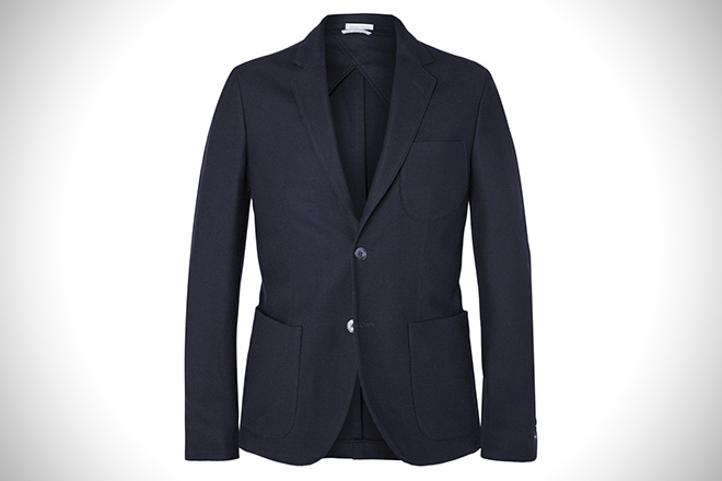 Gant Rugger Navy Slim-Fit Blazer