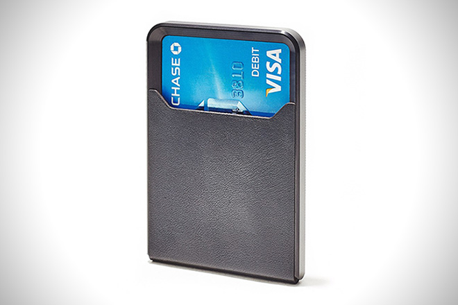 Grovemade Black Minimalist Wallet