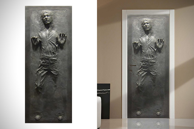 Han Solo in Carbonite Fathead Decal 1