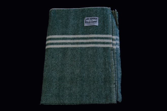Lake Superior Woolen Company Lap Blanket