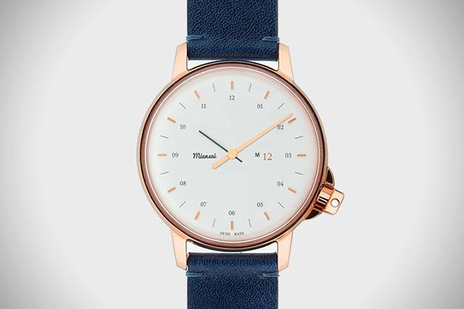 Miansai M12 Swiss Rose Gold Watch