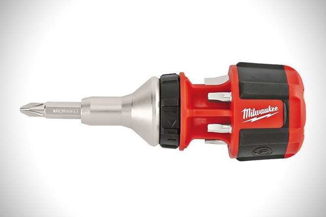 Milwaukee Compact 8-in-1 Compact Ratchet