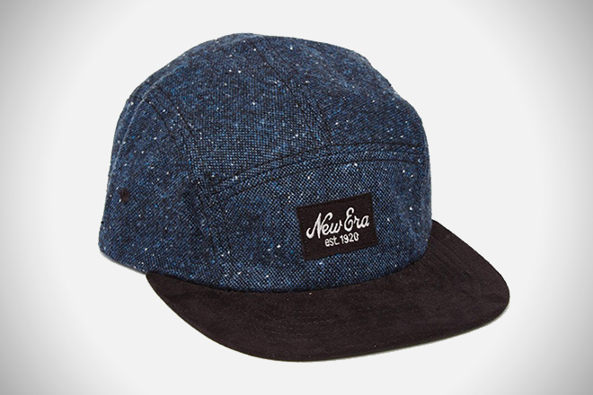 New Era Tweed Camper 5-Panel Cap