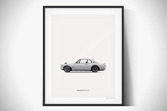 Petrolified Car Prints