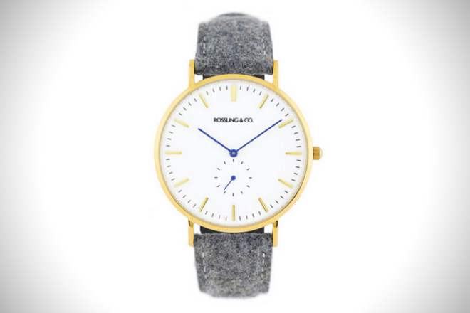 Rossling & Co. Gold & White Watch