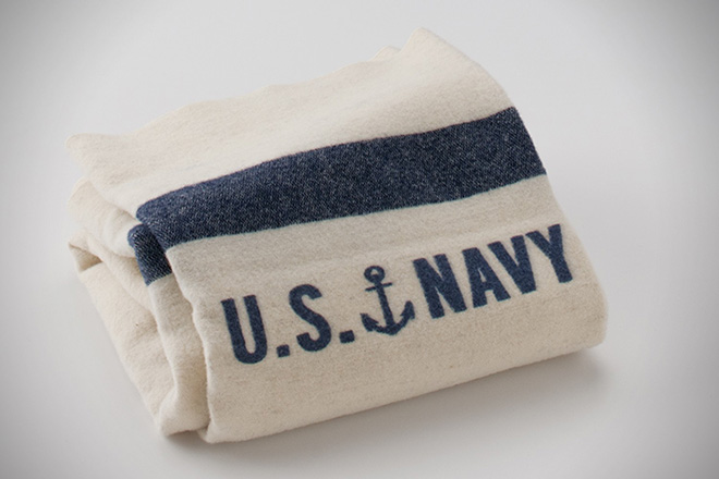 Schoolhouse Electric & Supply Co. US Navy Blanket