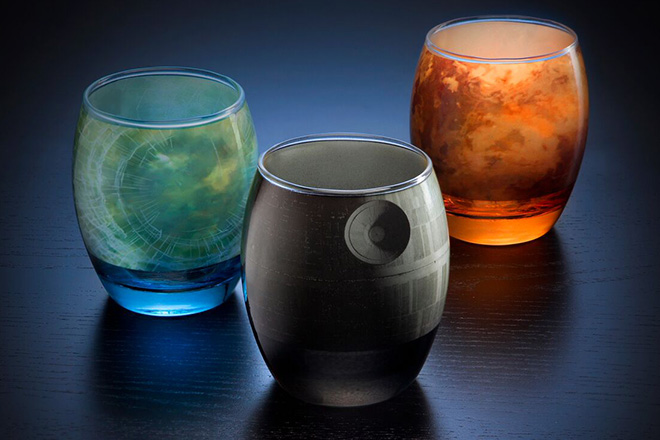 Star Wars Planetary Glassware Set 3