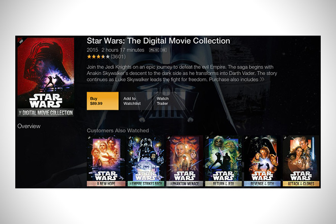 Star Wars- The Digital Movie Collection
