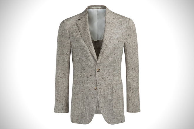 SuitSupply Havana Light Brown Blazer