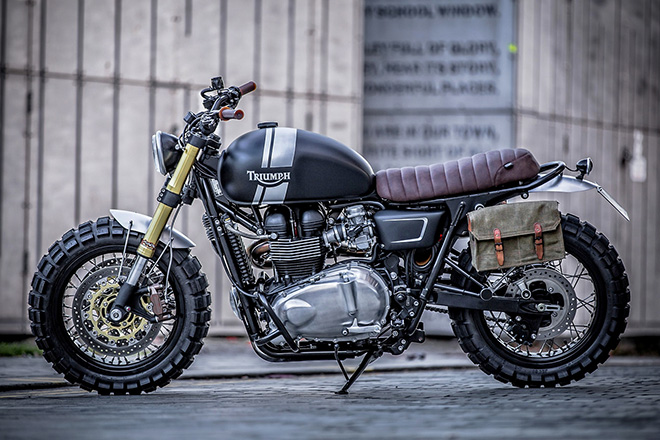 Triumph T100 by Down & Out Cafe Racers 2