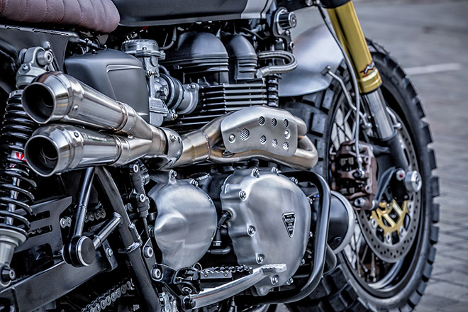 Triumph T100 by Down & Out Cafe Racers 5