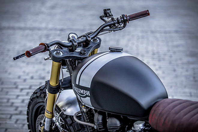 Triumph T100 by Down & Out Cafe Racers 6