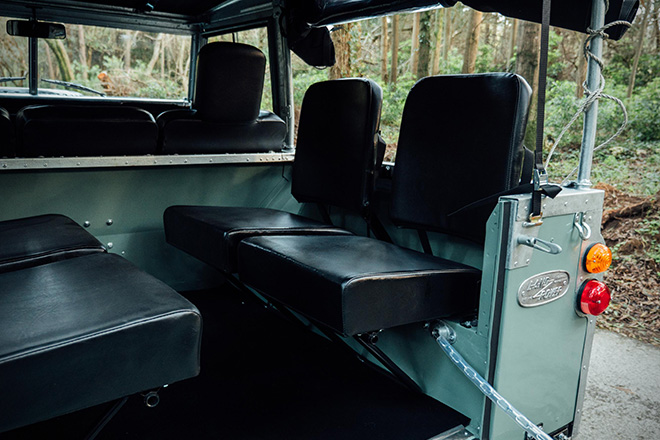 1982 Land Rover Series 3 with Camping Trailer 6