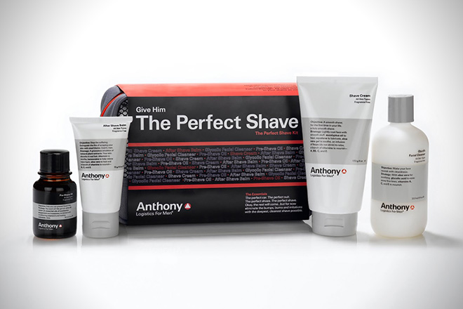 Anthony Logistics Perfect Shave Kit