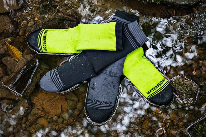 Crosspoint Waterproof Socks by Showers Pass 3
