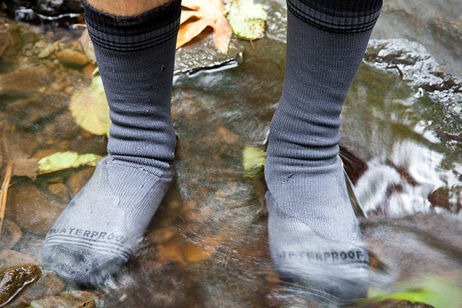Crosspoint Waterproof Socks by Showers Pass 5