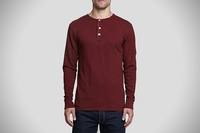 Dyer and Jenkins Hemp Henley