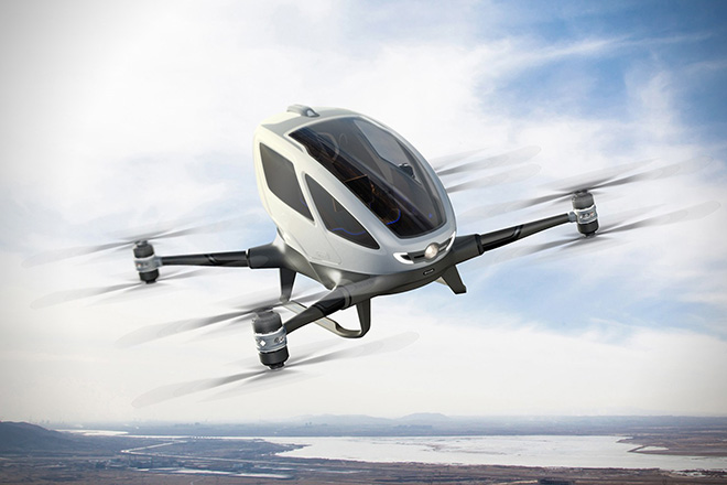 Ehang 184 One Seater Drone 4