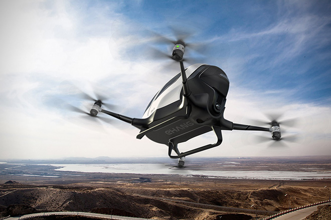 Ehang 184 One-Seater Drone 5