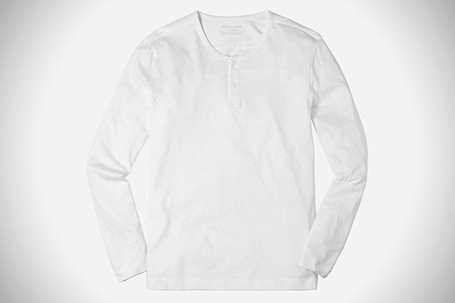 Everlane The Henley Tee