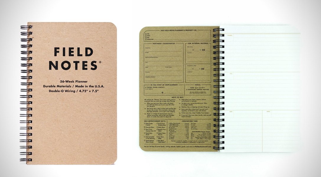 Field Notes Shop Planner