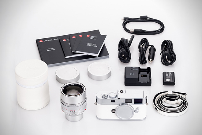 Leica M9-P White Limited Edition Camera 5