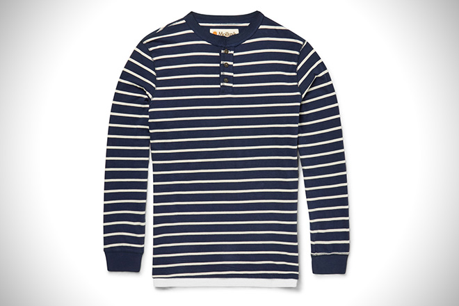 Mollusk Striped Henley