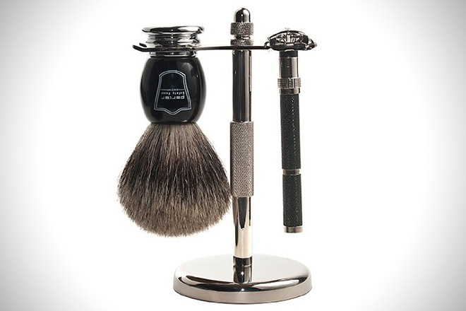 Parker 96R Safety Razor Shave Set