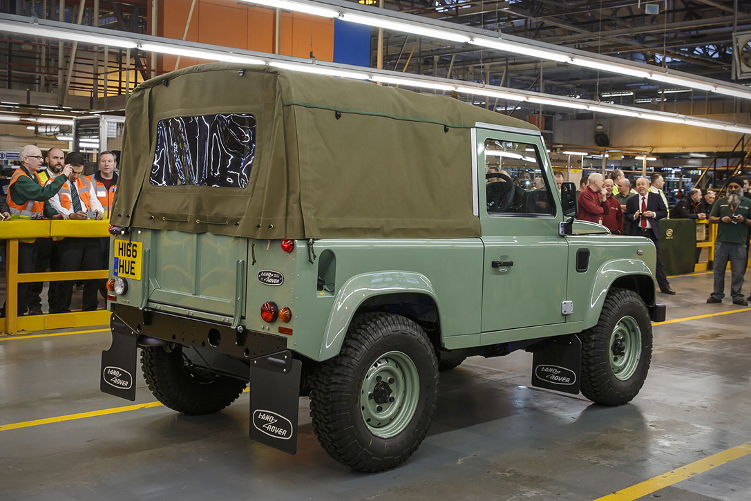 The Last Land Rover Defender Manufactured 3