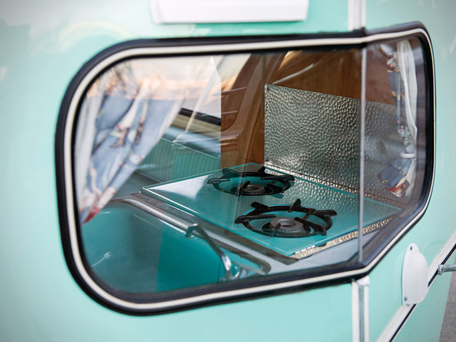 1963 Volkswagen 23-Window Microbus With Camping Trailer 10