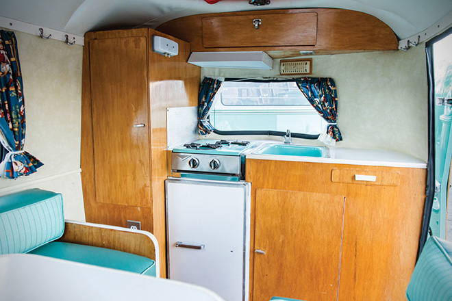 1963 Volkswagen 23-Window Microbus With Camping Trailer 11