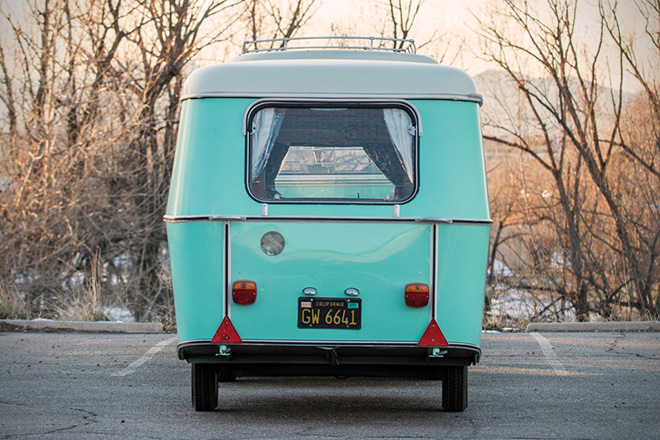 1963 Volkswagen 23-Window Microbus With Camping Trailer 13