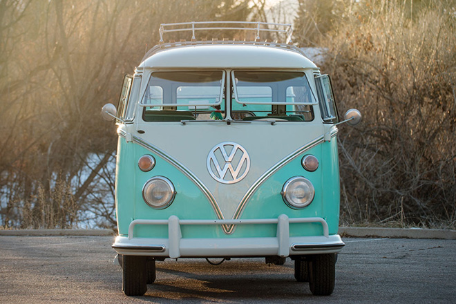 1963 Volkswagen 23-Window Microbus With Camping Trailer 3