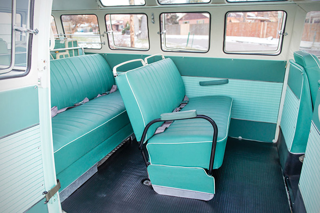 1963 Volkswagen 23-Window Microbus With Camping Trailer 5