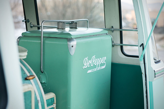 1963 Volkswagen 23-Window Microbus With Camping Trailer 7