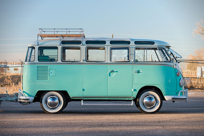 1963 Volkswagen 23-Window Microbus With Camping Trailer 8