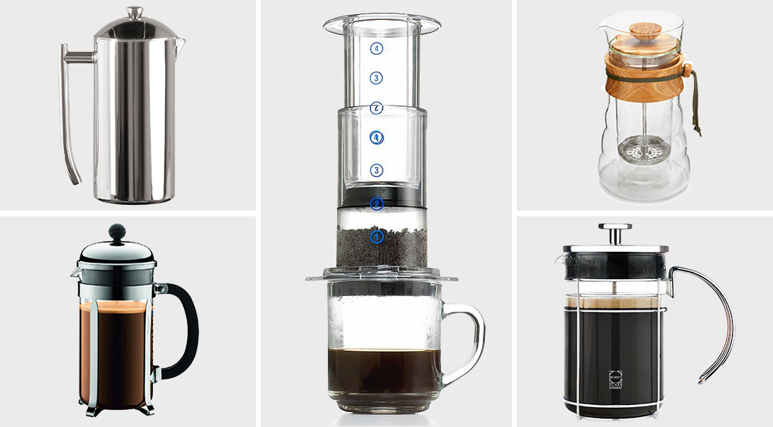 ground down 10 best french press coffee makers hiconsumption. Black Bedroom Furniture Sets. Home Design Ideas